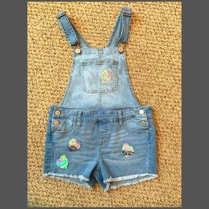 JUSTICE Girls Shortall Size 10